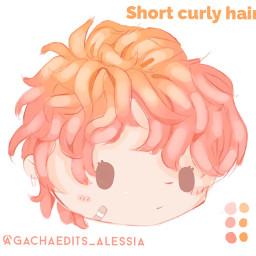 gachahair hair gachalifehair gachaclub gachalife gacha hairgacha softhair cutehair customhair