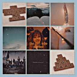 harrypotter hermionegranger harrypottercollage hermionegrangercollage local