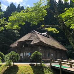 japan oga akita tōhoku farmhouse summer forest pcadaytoremember adaytoremember