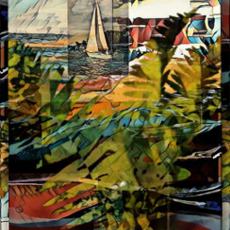designbyjaz ferns beach sailboat pacificnorthwest