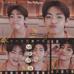kimtaehyung taehyung taetae orange bts edit loveusm babytae taevlive tete bangtansoydean tae v btstaehyung