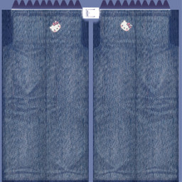 freetoedit kitty jeans
