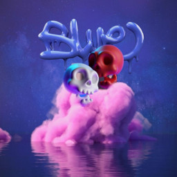 blue sky skeleton water stars wallpaper background be-creative be