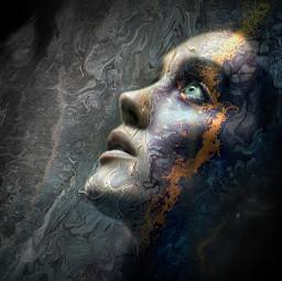 heypicsart girl art picsart portret fluidart freetoedit default