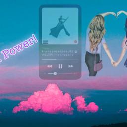 freetoedit fun girls song music love power