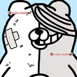 shirokuma kumashiro shirokumaedit danganronpa danganronpav3 danganronpa2 anime animeedit game gameedit gamer bts kpop btsedit blackpink charlidamelio addisonrae picsart madewithpicsart _miss_sushi_ misssushi freetoedit