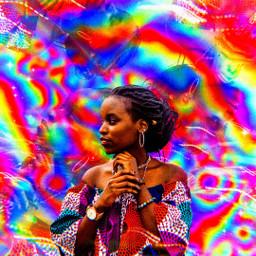 acid luciddreams rainbow art model aesthetic aesthetics artsy aciddreams dreams cute colors indie grain bokeh