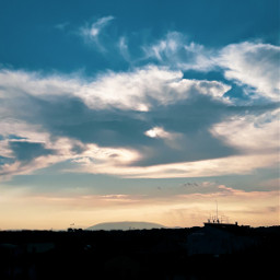 freetoedit myphoto by_me photography phonephotography sky clouds sun background beautifulsky landscape local silhouette