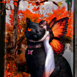 byme art myart work love fantasy cat girl life challenge freetoedit picsart ircgetcreative getcreative