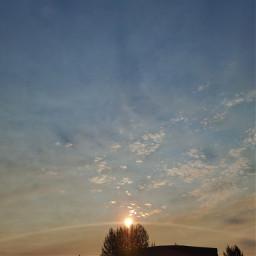 morning sky oregon sunrise endofsummer freetoedit local