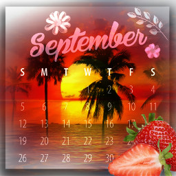 calender september strawberry sunset sun guitar music girl angel numbers beautiful freetoedit default srcseptembercalendar2021 septembercalendar2021