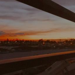 sunset orange bright freetoedit local