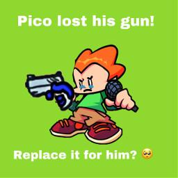 gun pico picoday2021 imlate arson freetoedit