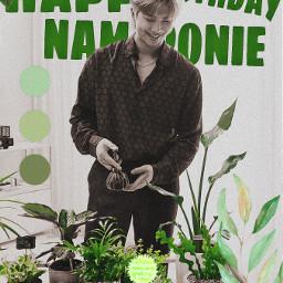 freetoedit remix bts bangtanboys rm happybirthday green 1994 happybirthdayrm local