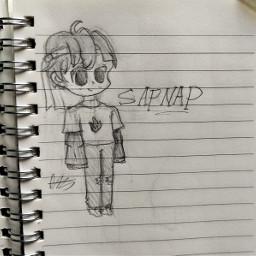 sapnap minecraft dreamsmp art drawing chibi doodle drsmp local