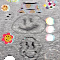 freetoedit smile art collage