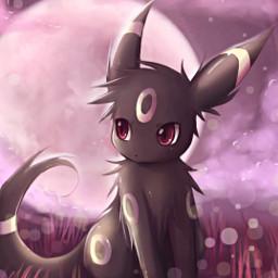 freetoedit noctali umbreon evolition eeveelution pokemon cute darkness beautiful lavieestbelleaussibellequetoi