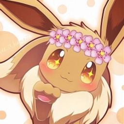 freetoedit evee evoli cute pokemon
