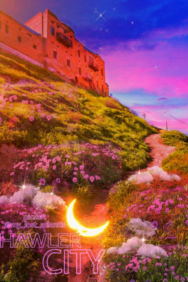 H A W L E R -C I T Y 💖 K U R D I S T A N 💜 @MY_LOST_ATLANTIS • • • #photoedit #photography #portrait  #kurdistan #city #hawler #hawler_citadel  #kurdo #kurd-a #picsart #nature #sky  #landscape #fantasy #FreeToEdit #photo#kurdistan_nature #flower #kurdish #mountain #travel #world #moon #aestheticedit #pink  @pa