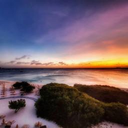 photography travel nature sunset beach sky freetoedit