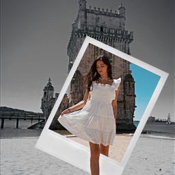freetoedit polaroid picsart madewithpicsart woman