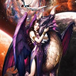 dragon challenge picsartedit picsartchallenge love queen edit byme effects freetoedit srcgalactichole galactichole