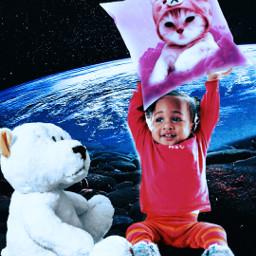 planet children toys love cute dreams challenge picsartchallenge freetoedit picsart ircdesignthepillow2021 designthepillow2021