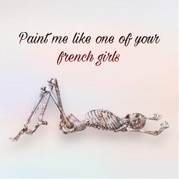 freetoedit painting paint skeleton skeletons skelly skellybone spooky spookyscaryskeletons halloween early earlyhalloween