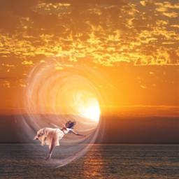 vortex sunset surreal surrealart freetoedit local