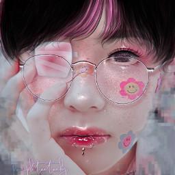 freetoedit taehyung taehyungmanip fakeland ibispaintx