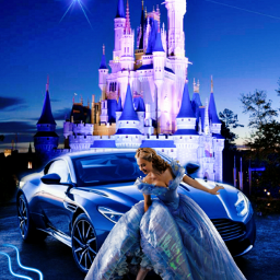 cinderellaedit princess car byme love edit art castle life promnight challenge freetoedit picsart ecneonsigns2021 neonsigns2021