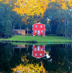 freetoedit barn photography photo photos freelancephotographer scenery lake reflection
