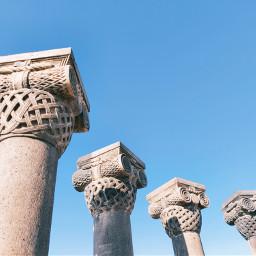 column oldbuilding armenia architecture background remixme minimalism freetoedit local