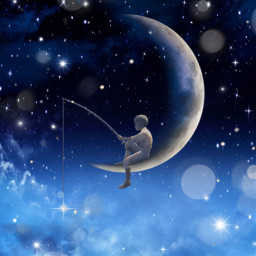 moon stars @gelarehzargaran freetoedit default local stars