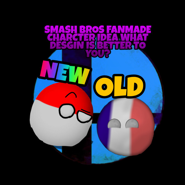 What's your favorite design  Old or new #supersmashbros #countryballs