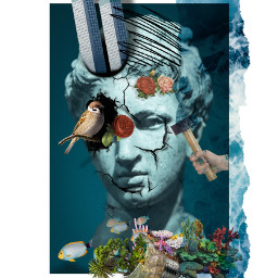mycollage collage artwork collageartist collagework freetoedit fcimaginationsplash imaginationsplash