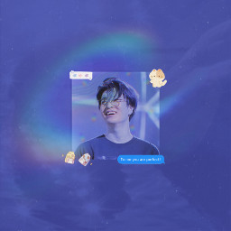 got7 got7youngjae youngjae seveneleven funny anime kpop boy massage cute kawaii editgot7 people aesthetic blue freetoedit