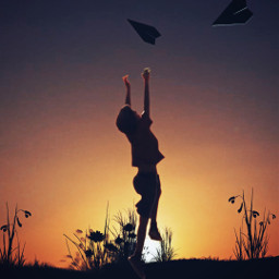 sunset silhouette darkbackground blackbackground dodger crispeffect picsartchallenge freetoedit picsart ircpaperplane paperplane