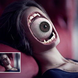 girl eye eyes arteyes art picsart picsartedit heypicsart graphics ligths horror vampire freetoedit imaginationsplash