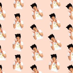 freetoedit remix wallpaper superjunior kingsofkpop e.l.f💙 yesung patternator e
