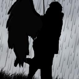 freetoedit couple rain hug cute couplegoals cutecouple rainyday umbrella art silouhette silouhettes coupleinlove hugging embrace warmembrace love loving lovingembrace sweet angel romantic romeo juliet romeoxjuliet