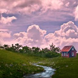 mastershoutout landscape sky clouds freetoedit