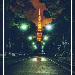 freetoedit remix wallpaper japan travel night