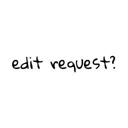 editrequest default
