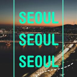freetoedit remix wallpaper seoul night southkorea