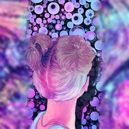 bunt magic girl cool schön wunderschöner ein pretty freetoedit picsart