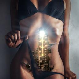 light girl layers terminator robot biorobot art picsart heypicsart picsartedit picsarteffects body freetoedit local