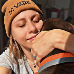 freetoedit girl me vans dog love cuddle preset replay