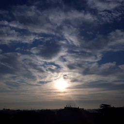 freetoedit myclick by_me photography phonephotography sky clouds morning sun local