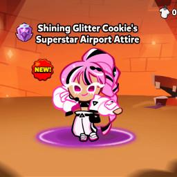 freetoedit shiningglittercookie cookierun